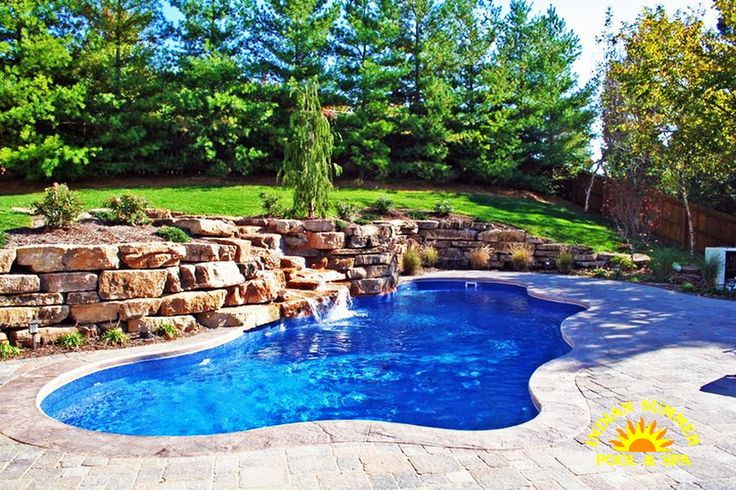 Viking Fiberglass Pool #044 by Indian Summer Pool and Spa