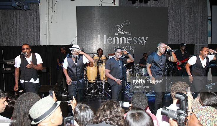 New Edition performs at DJ Cassidy's 30th birthday celebration and the one year anniversary of Hennessy Black>> at the Intrepid Sea-Air-Space Museum on July 6, 2011 in New York City.