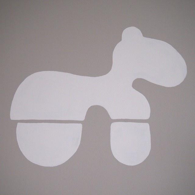 Eero Aarnio Pony painted on the wall  CASA Blogit - Oma Koti Valkoinen