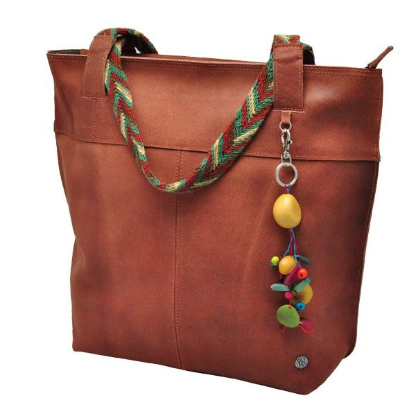 Ecoleren dames shopper | ecoleer met Wayuu weefwerk eco & fair design