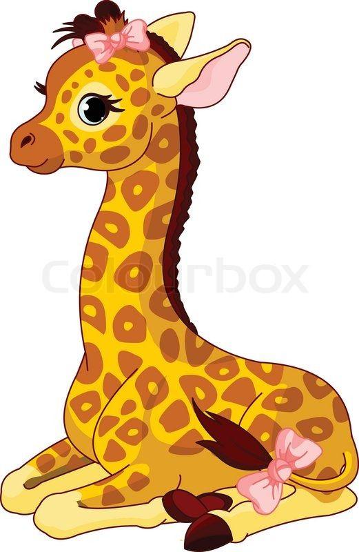 1814132-giraffe-calf-with-bow.jpg (521×800)