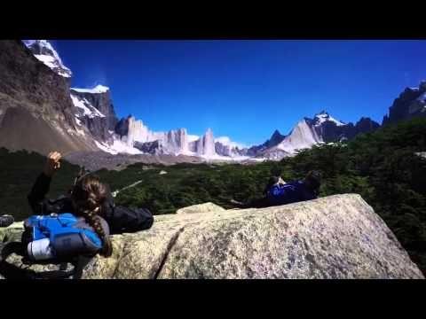 EAT SLEEP TRAVEL Trek W Torres del Paine en Patagonie au Chili - YouTube