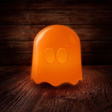 Soo cute :D Pac-Man Spöklampa, Byt mellan 16 olika färger!