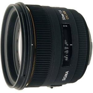 Sigma 50mm 1,4 EX DG HSM