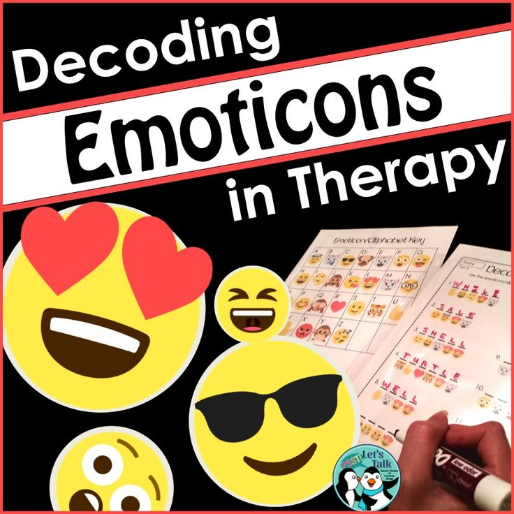 Decode emoji articulation words, multi-meaning words, and verbs in speech-language therapy.