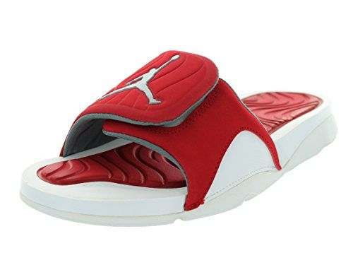 662b8bd60107d3 ... Nike Jordan Mens Jordan Hydro 4 WhiteWolf RedGym Red Sandal 8 Men Jordan  Hydro 5 V Slide Sandals White Infrared 23 Gym ...