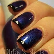 Resultado de imagen para diseño de uñas elegantes en azul