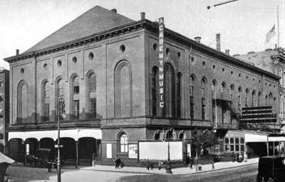 Regular attendance at the Academy Of Music (Palladium), 126 E. 14th Street, New York, NY was one of Society's most essential duties. Seeing who was there, how they were dressed, and whom they were with was as important as hearing the music.Music, New York Cities, Dresses, 1854 1909, 14Th Street, Age Entertainment, Nyc Entertainment, Academy, Gilded Age