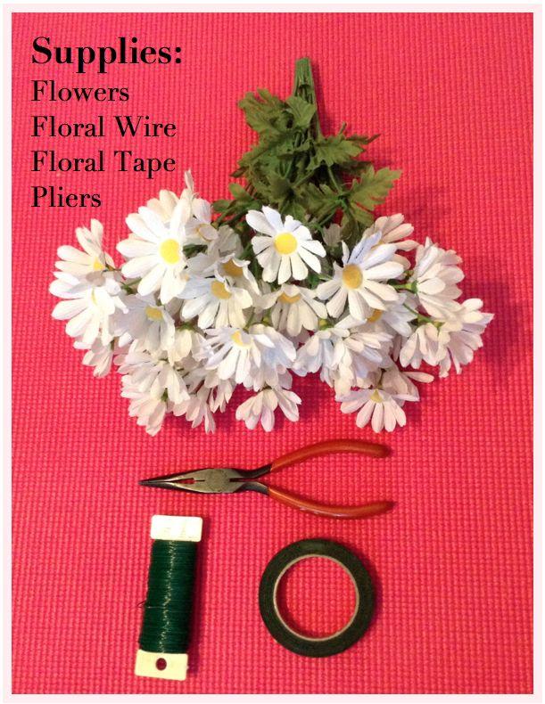 The Blushing Dreamer: DIY: Daisy Floral Crown