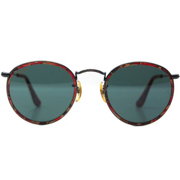 Vintage ray ban bausch and lomb tortoise metal round for Fenetre 1 3 2 3