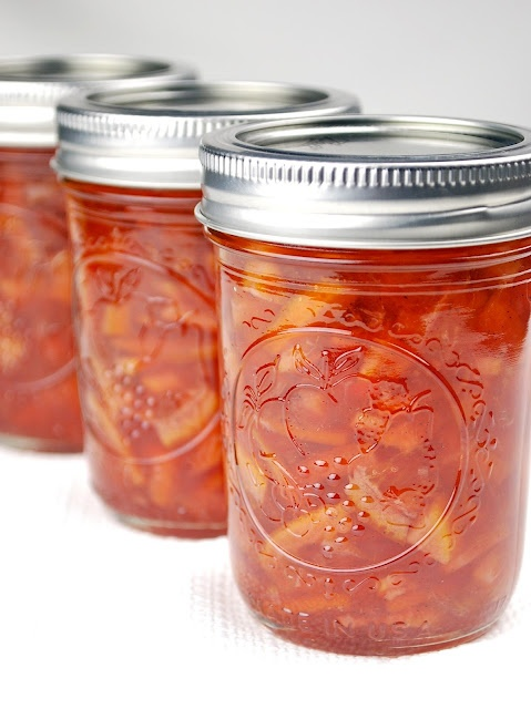 Blood Orange Marmalade with Clove and Vanilla