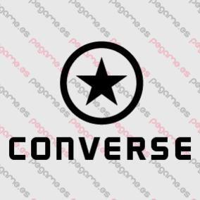 pegatina converse