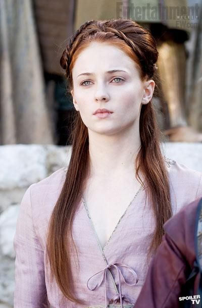 Sansa Stark. Because you know she will be queen some day.