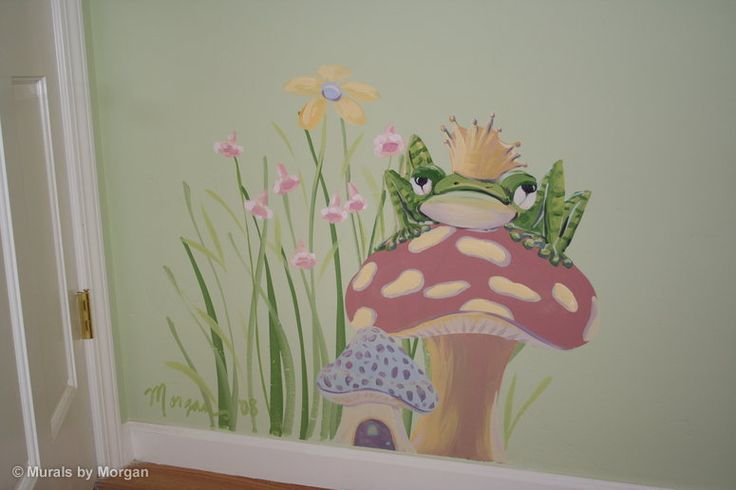 Fairy Tale Mural - The Frog Prince Detail