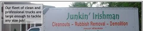 Junkin' Irishman is a privately owned and operated NJ Junk Removal and NJ Rubbish Removal company, which provides deck, shed and patio removal, exterior property clean-ups, and the removal of almost any type of unwanted junk and debris, throughout the Greater North Jersey Region. Visit Us:http://www.junkinirishman.com/