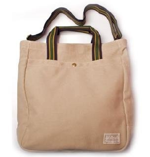 Polo Ralph Lauren Nubby Canvas Large Tote Bag