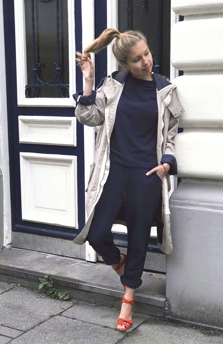 Fair Fashion Outfit mit Maas Natur, Vintage Sandalen und Acne Studios Mantel. Slow Down and Fashion Up! Mehr auf sloris.de