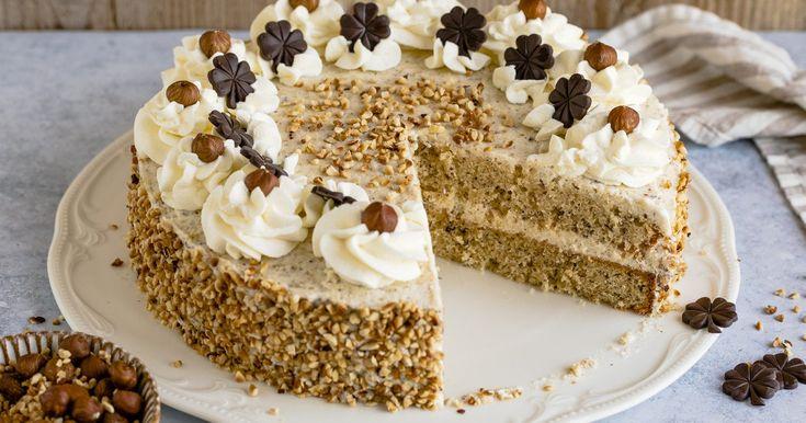 nuss sahne torte rezept in 2020 kuchen und torten