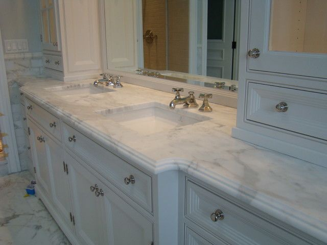 100 ideas to try about granite edging and tile trim - Marble countertops for bathrooms ...