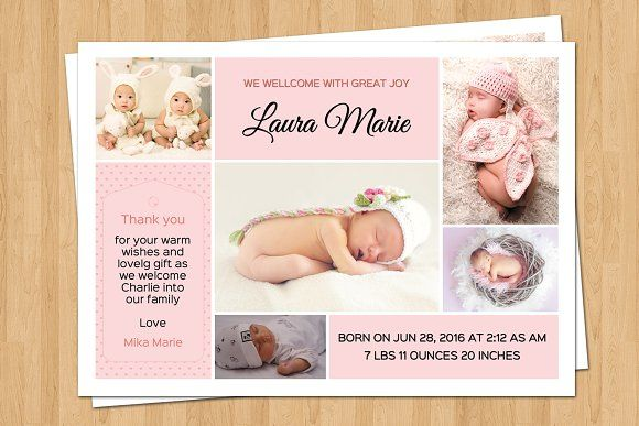 21 best Birth Announcement images on Pinterest Baby - baby born küche