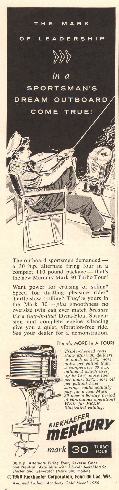 https://flic.kr/p/RhusCh | 1956 Mercury Outboard Motor Advertisement Time April 2 1956 | 1956 Mercury Outboard Motor Advertisement Time April 2 1956