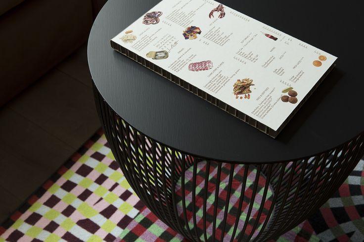 #menudesign #graphicdesign #menu #design by alaindebruijn.com for blue-nijmegen.nl