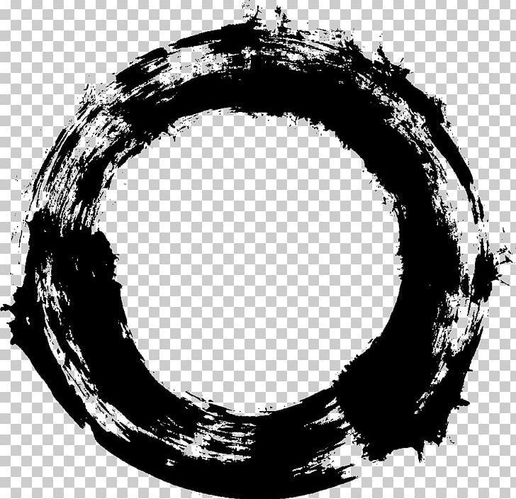 Paintbrush Png Black And White Brush Circle Digital Media Grunge Grunge Circle Png