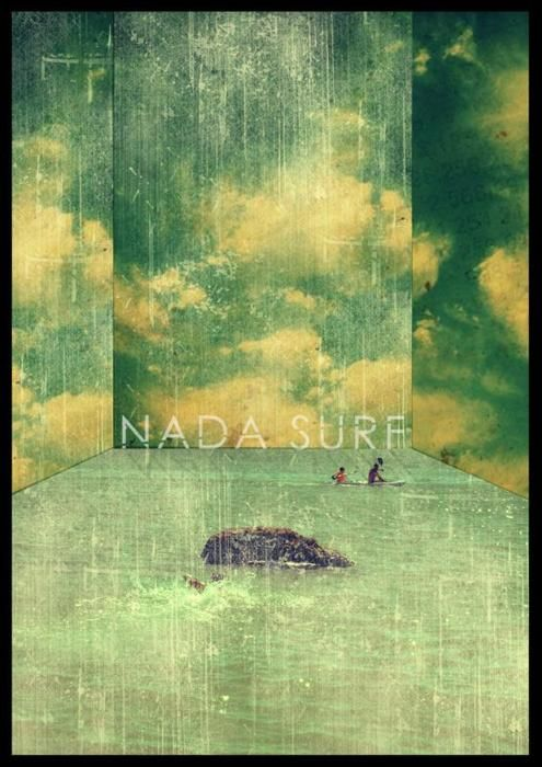 Gorgeous Nada Surf poster.
