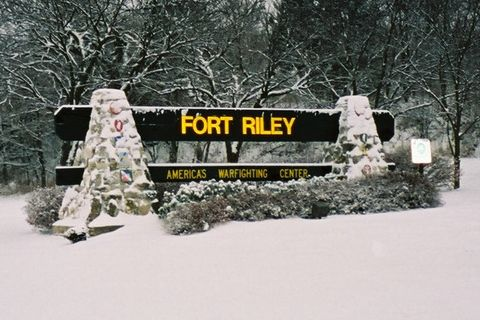 Fort Riley Kansas. It reminded me of Little house on the prairy.