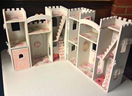 shabby castle 13 - Painted Wood Castle 2015