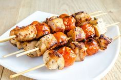 Authentic Turkish Chicken Kebab: Basic Turkish chicken kebabs are marinated in seasoned yogurt before grilling.