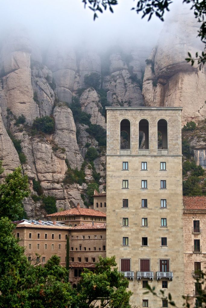 Montserrat Monastery, Barcelona | Spain (by vkurland)   A beautiful and mistic place. I visited in October 2012