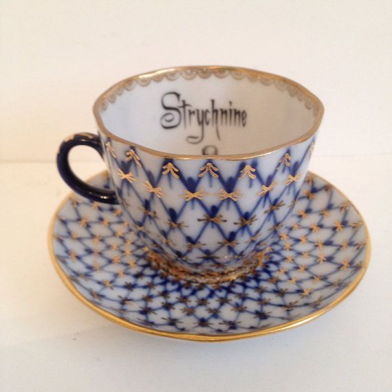 Poison Tea cup on Etsy, $35.00