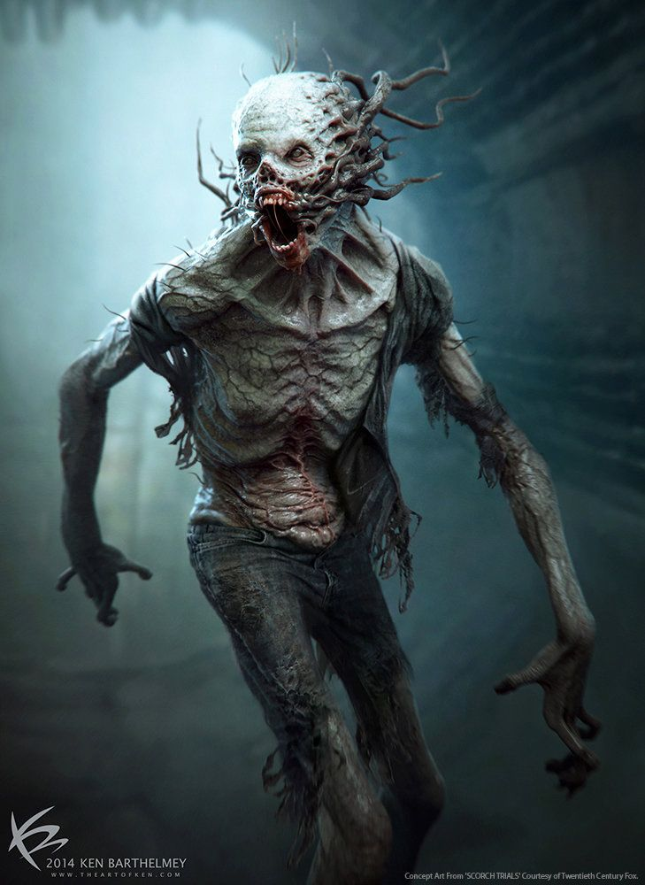 ArtStation - The Scorch Trials - Creature Designs, Ken Barthelmey