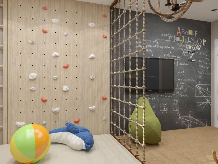 Kinder wollen sich richtig auspowern! In diesem Zimmer wird das möglich. https://www.homify.de/ideenbuecher/40512/mit-unseren-ideen-jugendzimmer-gestalten
