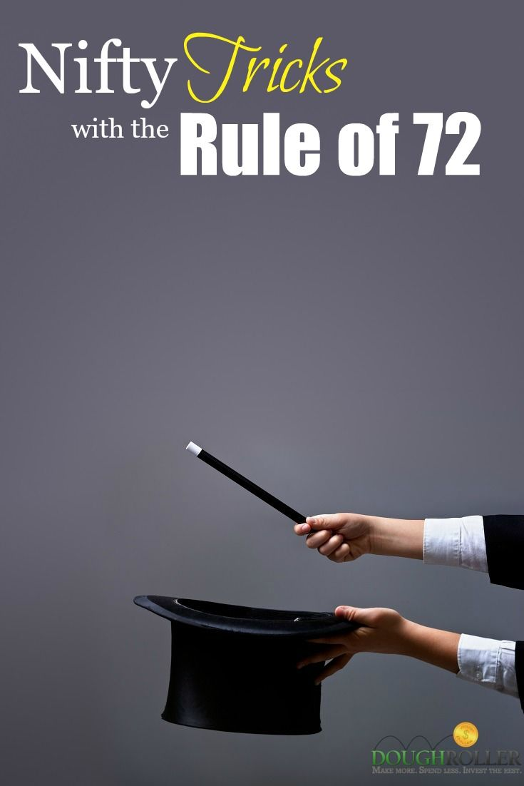 Learn how to use the Rule of 72 and other rules of financial tricks that you can use to impress your friends!