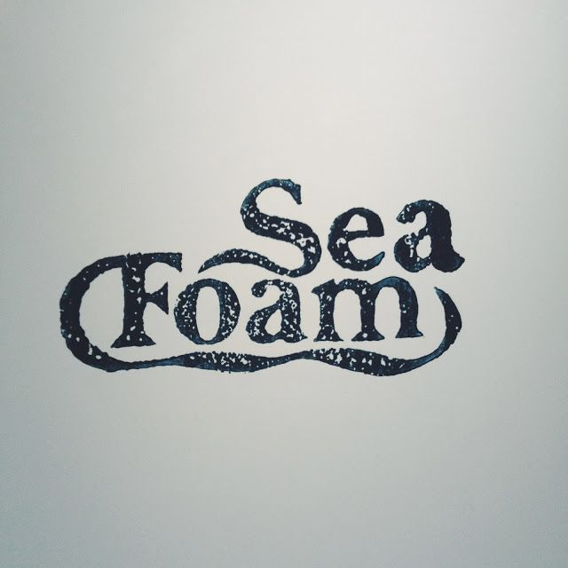 Seafoam, a chapbook by Courtney Bates and Faith Logan: Print, Collate, Repeat