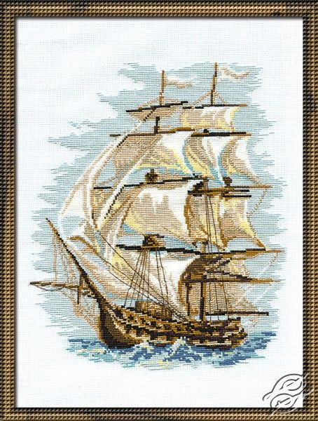 Sailing Vessel I - Cross Stitch Kits by RIOLIS - 479