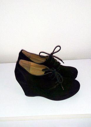 Kupuj mé předměty na #vinted http://www.vinted.cz/damske-boty/kotnikove-boty/9976119-damske-botky-na-klinku-deichmann