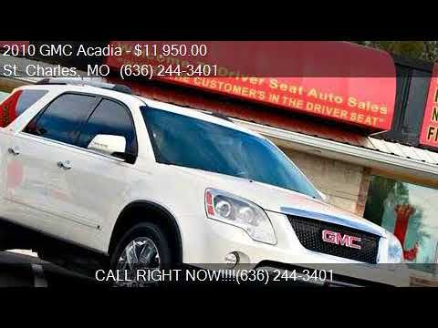 2010 GMC Acadia SLT 2 AWD 4dr SUV for sale in St. Charles, M