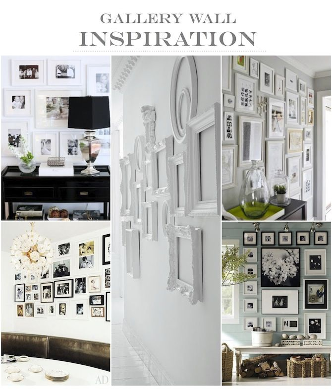 FRANKIE HEARTS FASHION: Inspiration: Gallery Wall