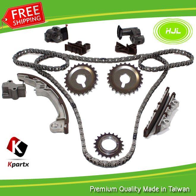Timing Gear Chain Kit Set fit 01-04 Nissan Pathfinder Infiniti QX4 3.5L VQ35DE