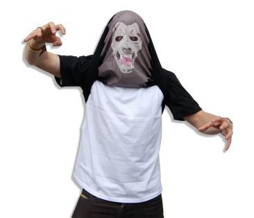 Comment se déguiser en loup-garou en 2 temps 3 mouvements...
