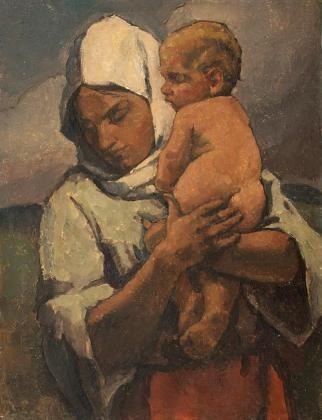 Camil Ressu - Madona din Dârste