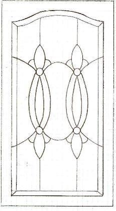 celtic glass cabinet design - Google Search