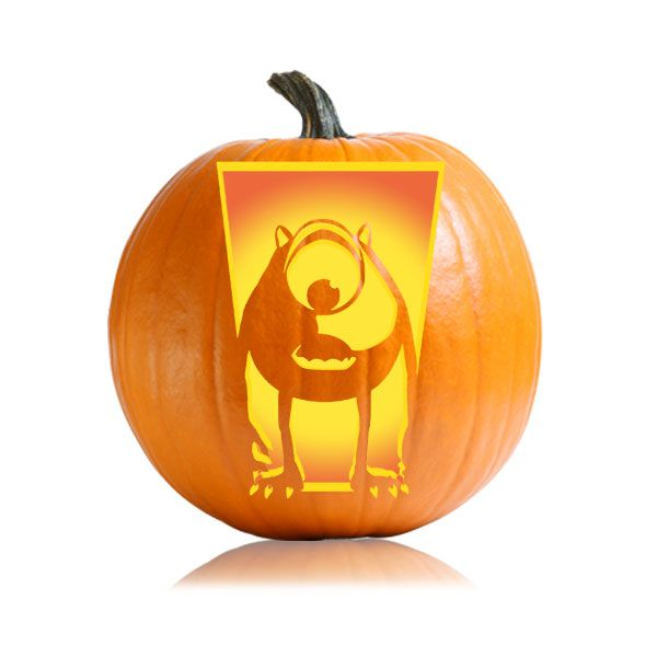 The best mike wazowski pumpkin ideas on pinterest
