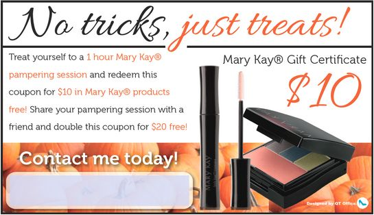 Mary Kay® Halloween Coupon http://www.blog.qtoffice.com/mary-kay-halloween-coupons/