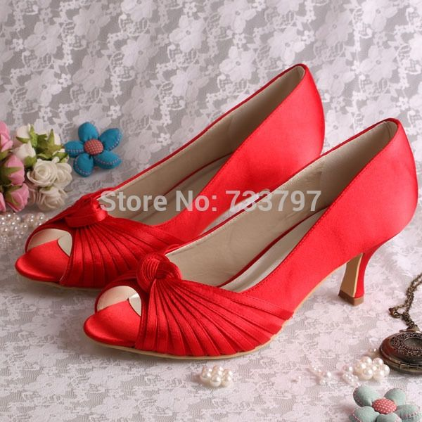 38.70$  Buy now - http://ali4pz.shopchina.info/1/go.php?t=32220708391 - (20 Colors)Custom Handmade Medium Heel 6.5CM Red Pumps Shoes for Women Party   #magazineonlinebeautiful