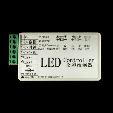 SPI RGB LED Controller for WS2801 ( Pixel controller )