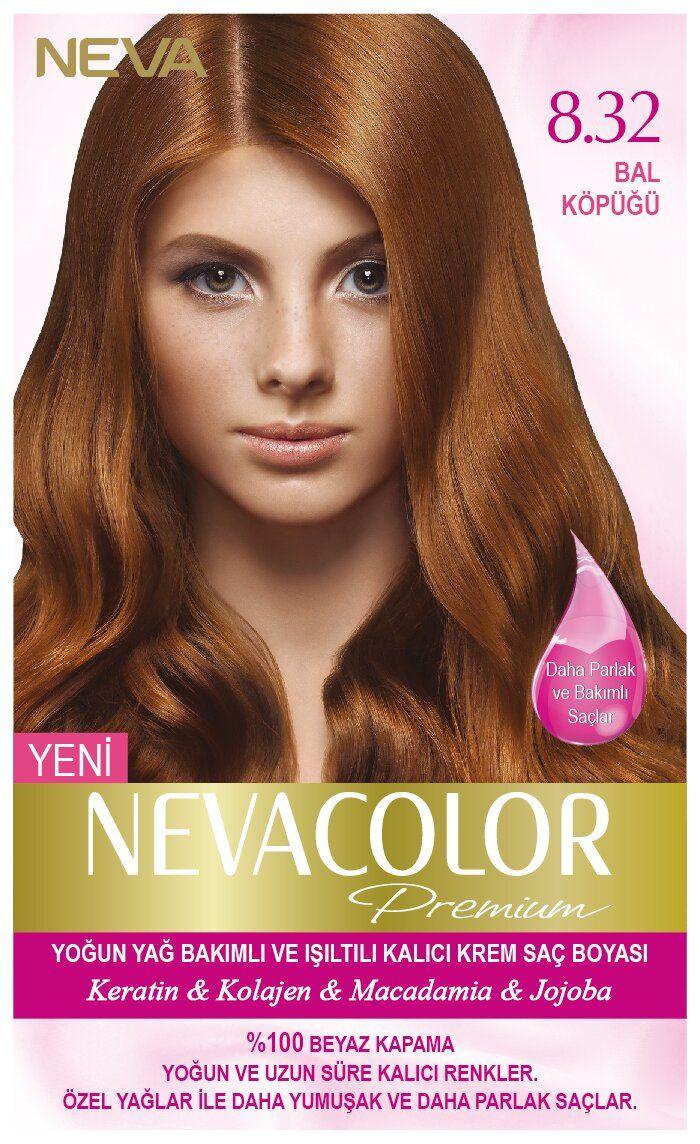 Neva Color Premium Sac Boyasi 8 32 Bal Kopugu Sac Boyasi Sac